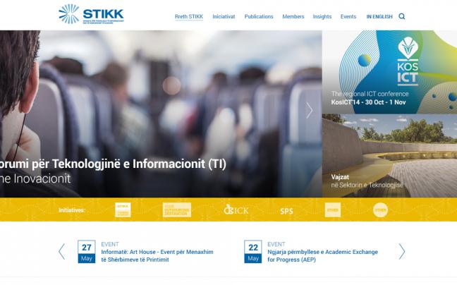 STIKK homepage