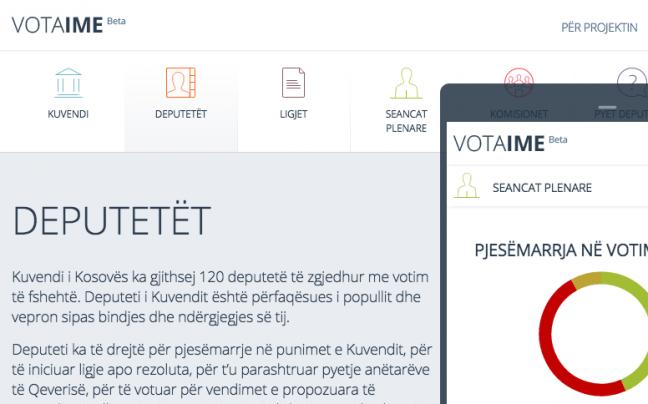 Vota Ime desktop, mobile, and tablet