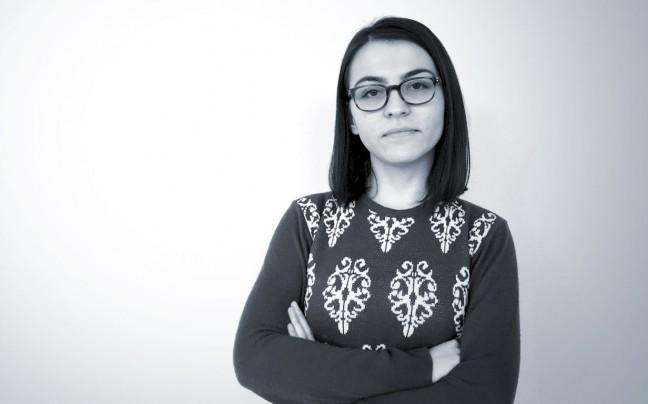 Ariana Grajcevci standing profile